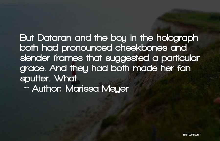 Frames Quotes By Marissa Meyer