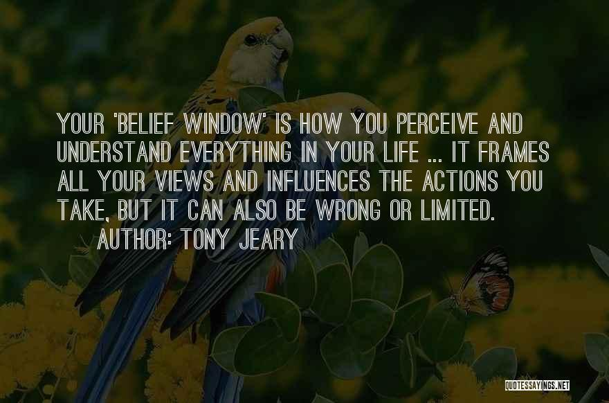 Frames Quotes By Tony Jeary