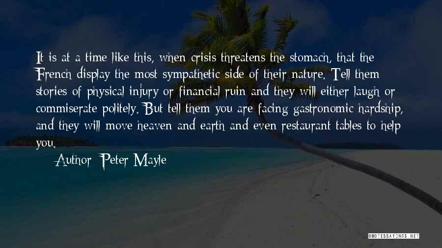 France And Food Quotes By Peter Mayle