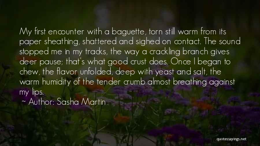 France And Food Quotes By Sasha Martin