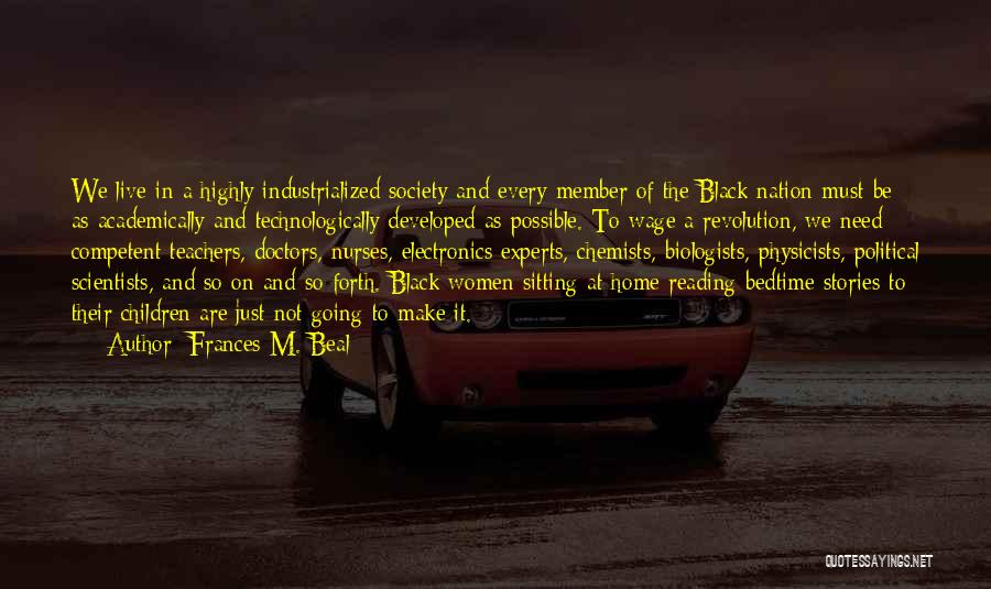 Frances M. Beal Quotes 305917