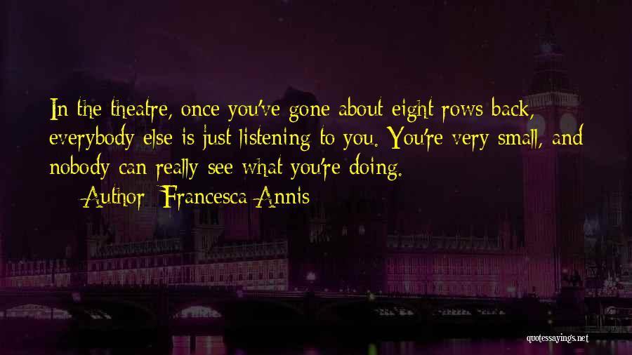 Francesca Annis Quotes 1657667