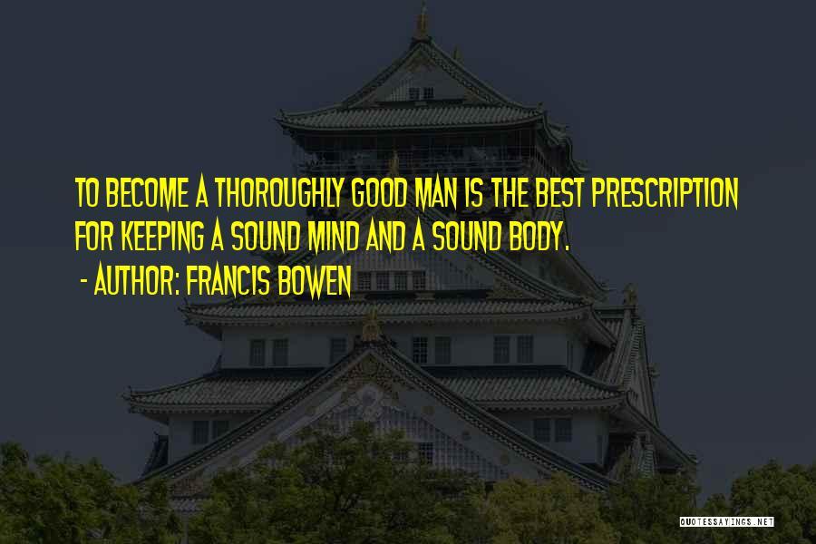 Francis Bowen Quotes 1991040