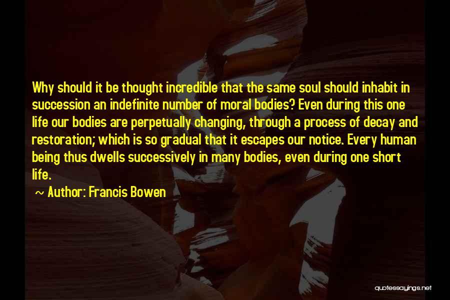Francis Bowen Quotes 642510