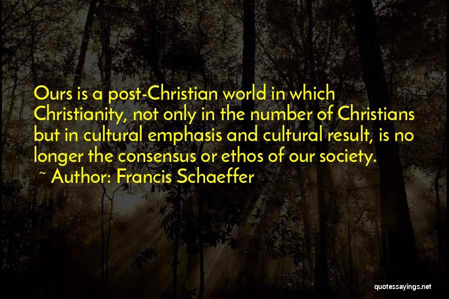 Francis Schaeffer Quotes 198567