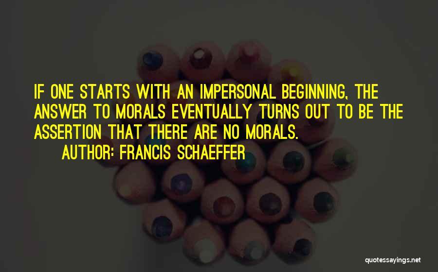 Francis Schaeffer Quotes 298303
