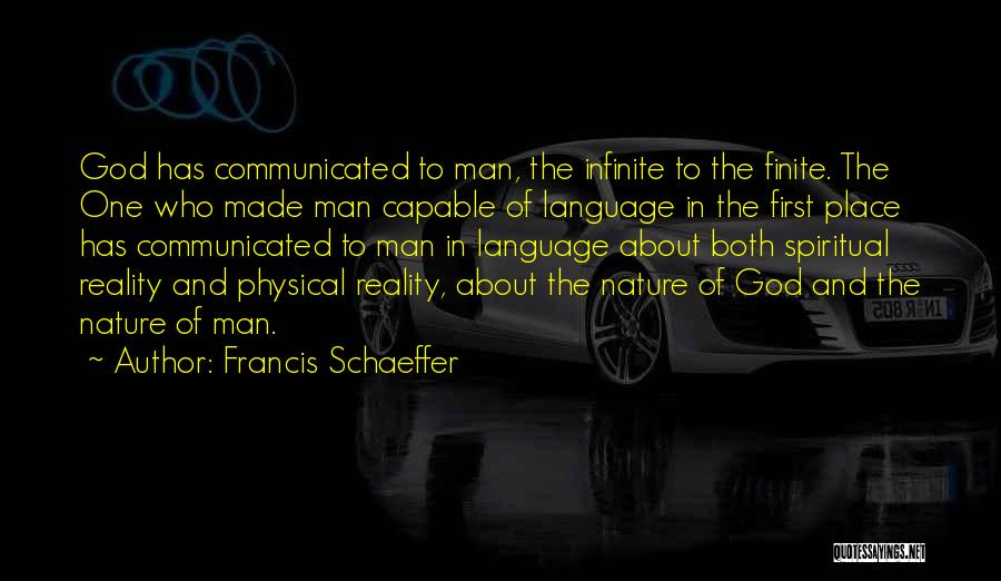 Francis Schaeffer Quotes 300927