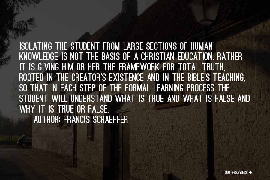 Francis Schaeffer Quotes 521922