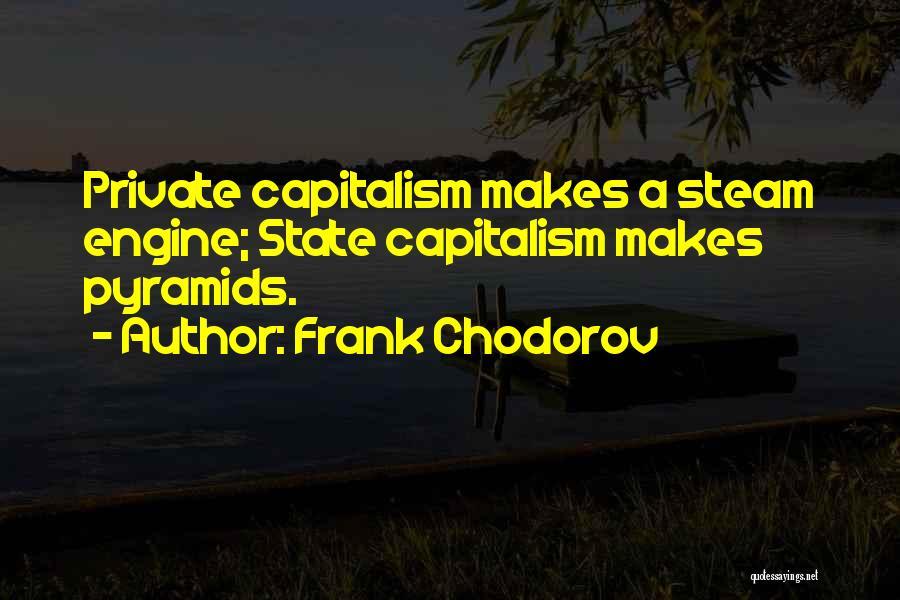 Frank Chodorov Quotes 1410463