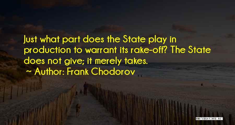 Frank Chodorov Quotes 656479