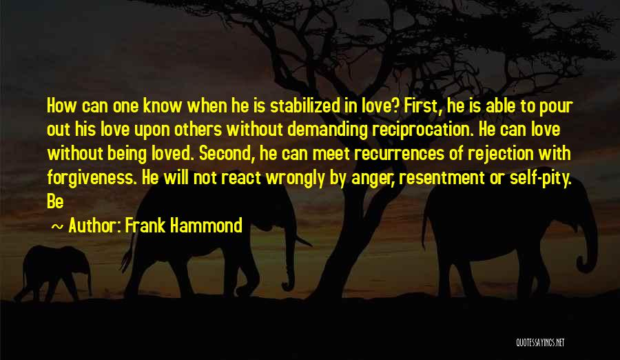 Frank Hammond Quotes 1991014