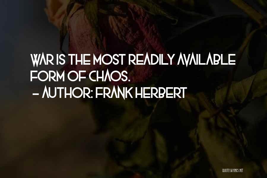 Frank Herbert Quotes 1029757