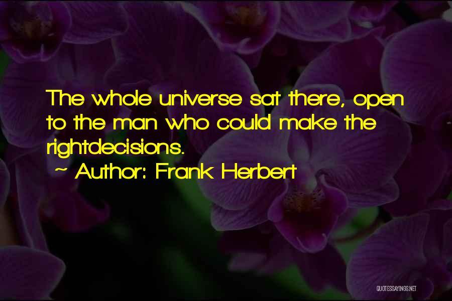Frank Herbert Quotes 1295032