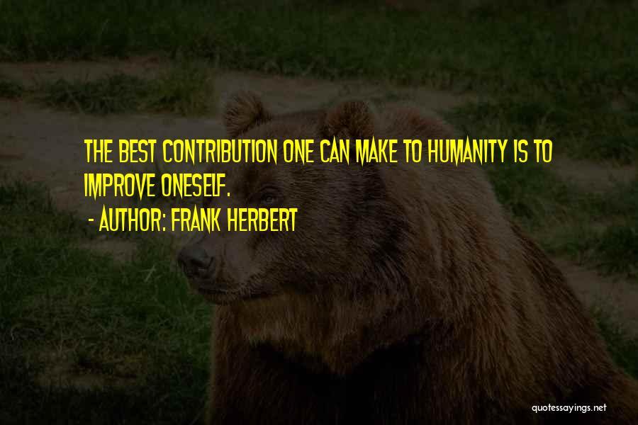 Frank Herbert Quotes 1564118