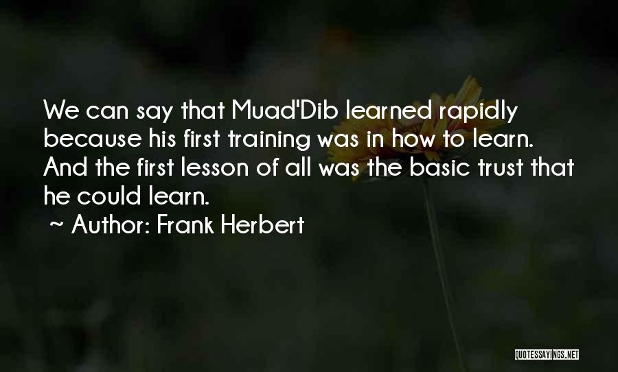 Frank Herbert Quotes 1752157