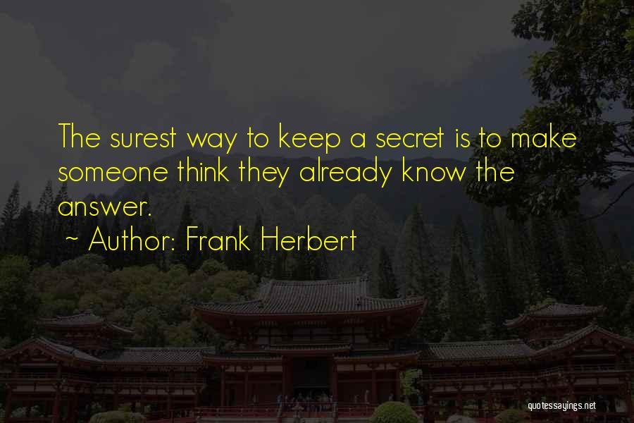 Frank Herbert Quotes 2136246
