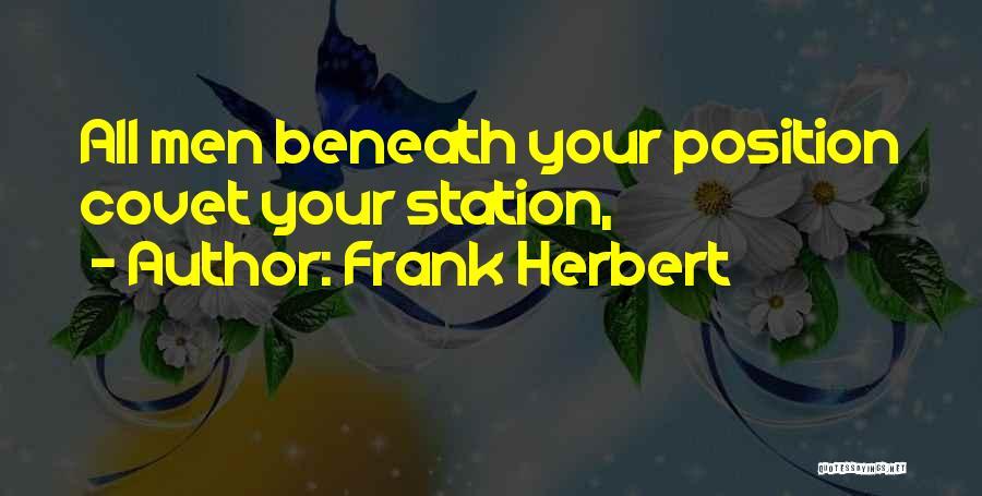Frank Herbert Quotes 277614