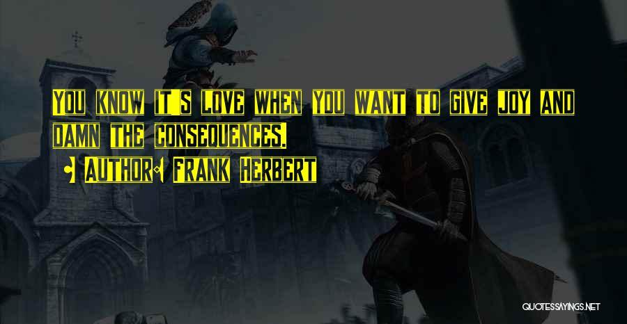 Frank Herbert Quotes 311584