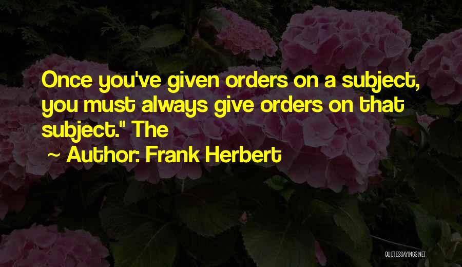 Frank Herbert Quotes 648400