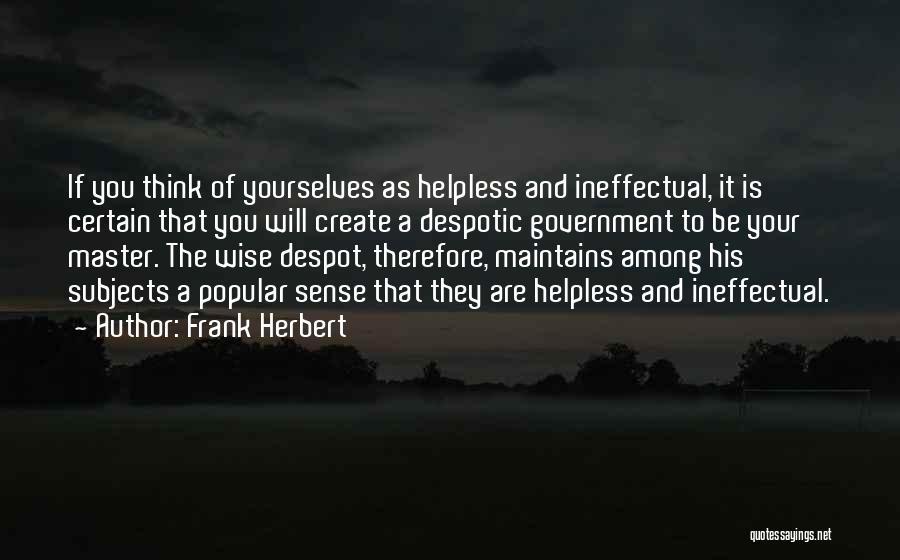 Frank Herbert Quotes 755093