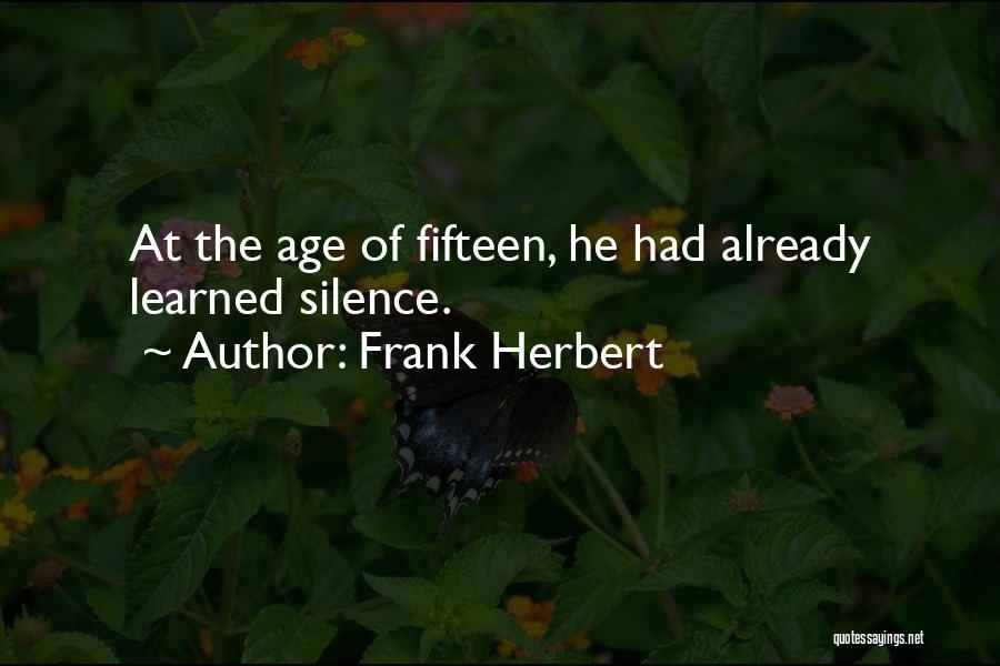 Frank Herbert Quotes 764007