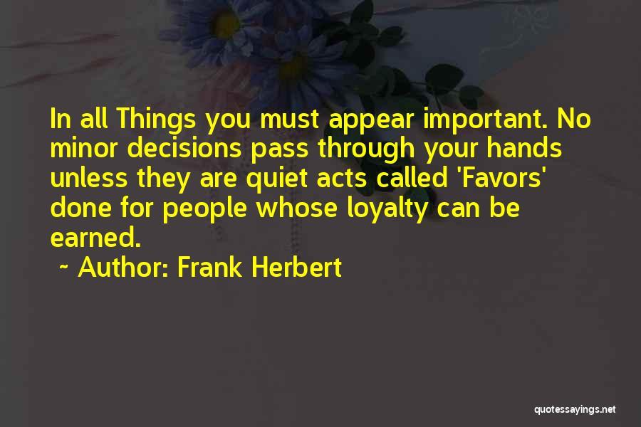 Frank Herbert Quotes 766482