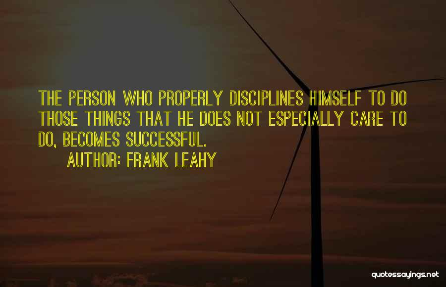 Frank Leahy Quotes 968752