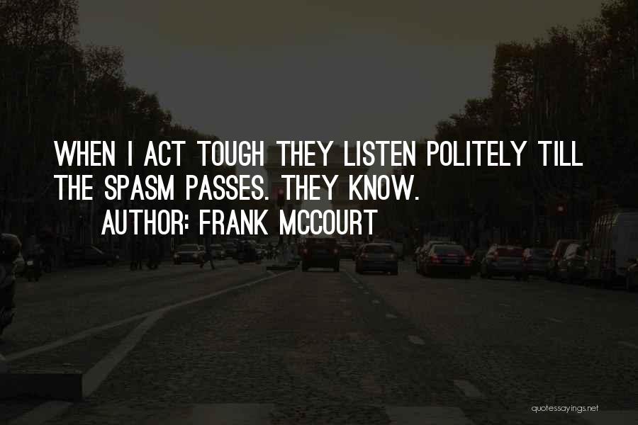 Frank McCourt Quotes 1064123
