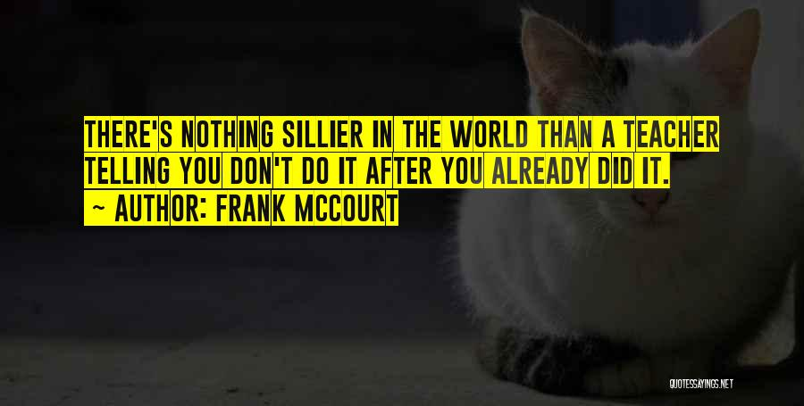 Frank McCourt Quotes 1238196