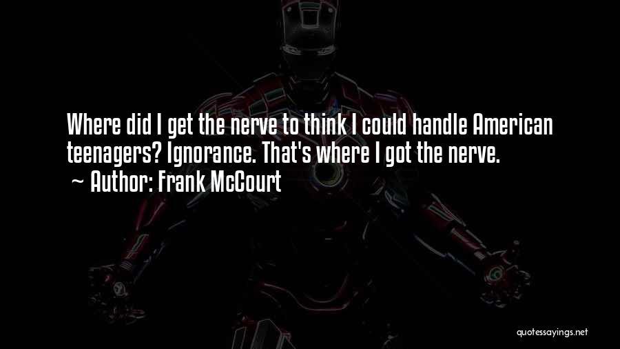Frank McCourt Quotes 1550017
