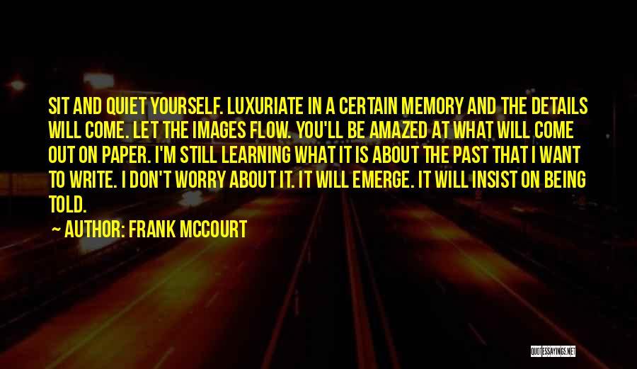 Frank McCourt Quotes 169118