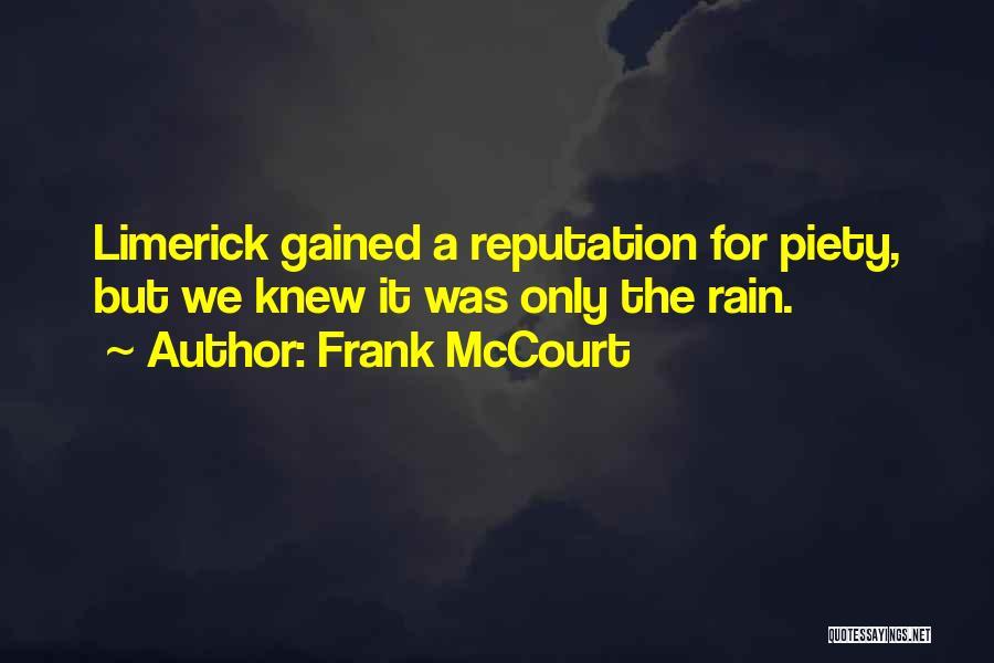 Frank McCourt Quotes 1716698