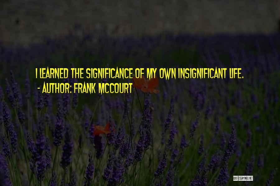 Frank McCourt Quotes 1795122