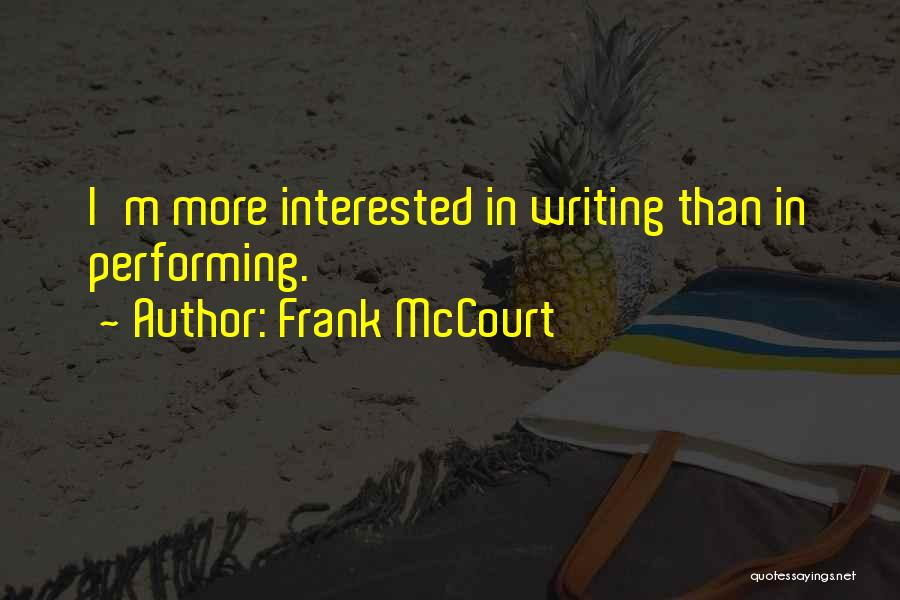 Frank McCourt Quotes 1961168