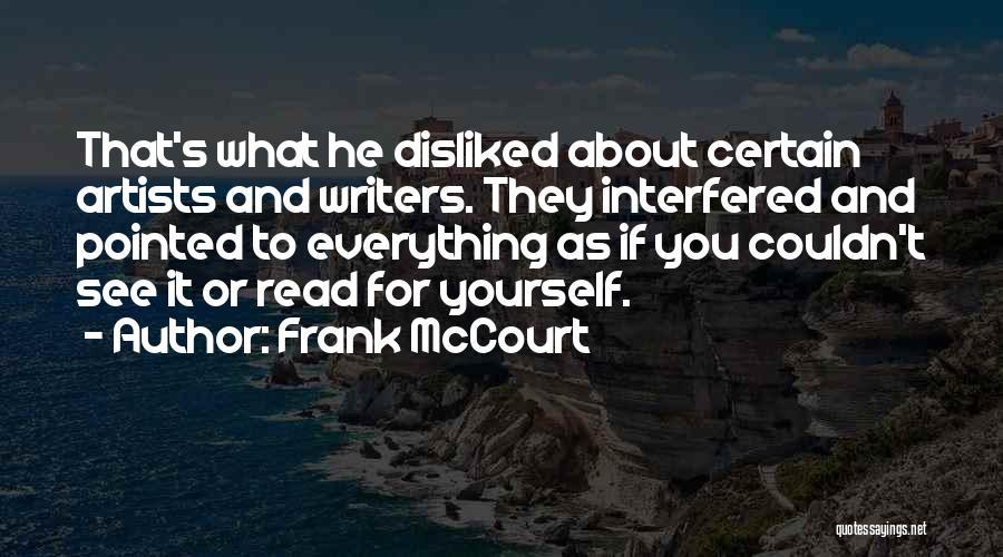 Frank McCourt Quotes 346957