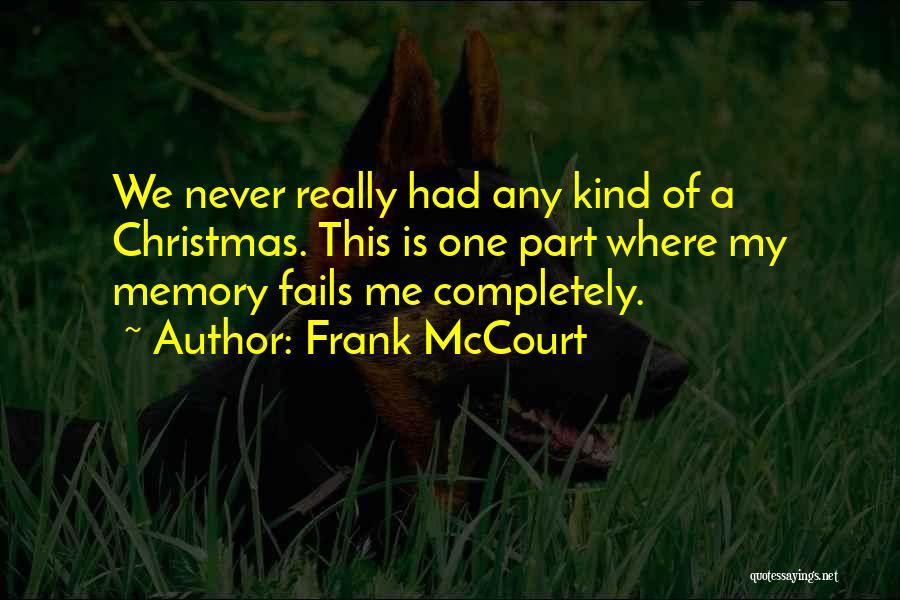 Frank McCourt Quotes 436582