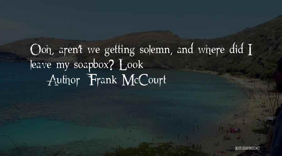 Frank McCourt Quotes 469857
