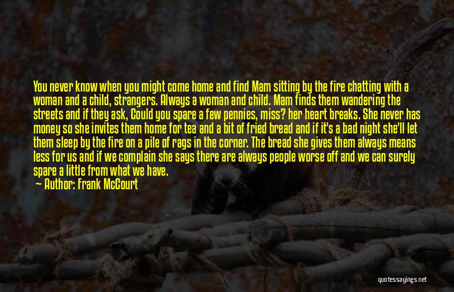Frank McCourt Quotes 480926