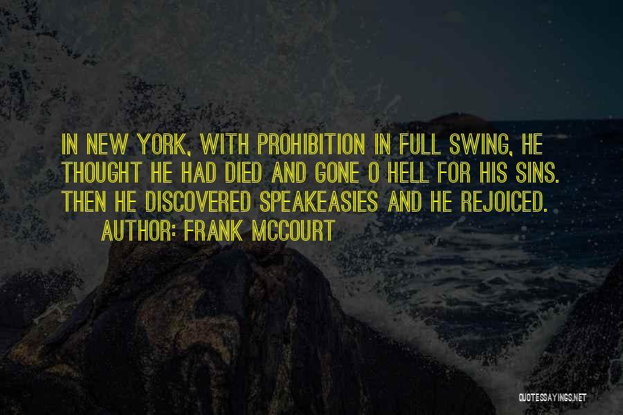 Frank McCourt Quotes 689314