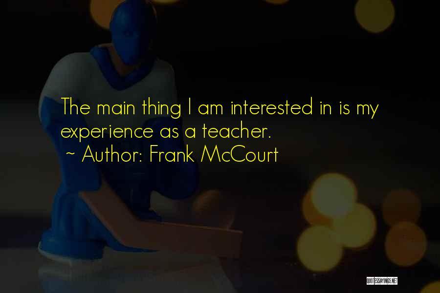 Frank McCourt Quotes 693916