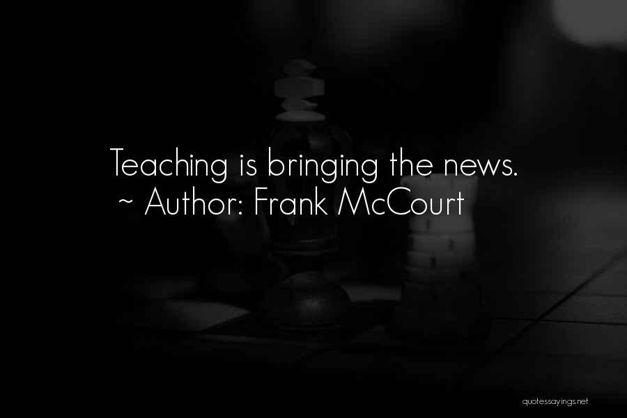 Frank McCourt Quotes 859419