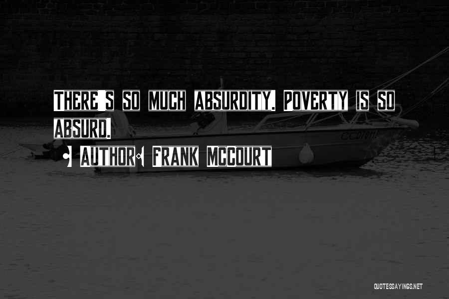 Frank McCourt Quotes 907859