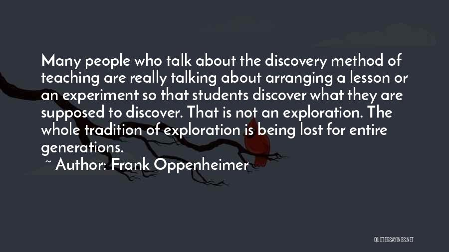 Frank Oppenheimer Quotes 1072845