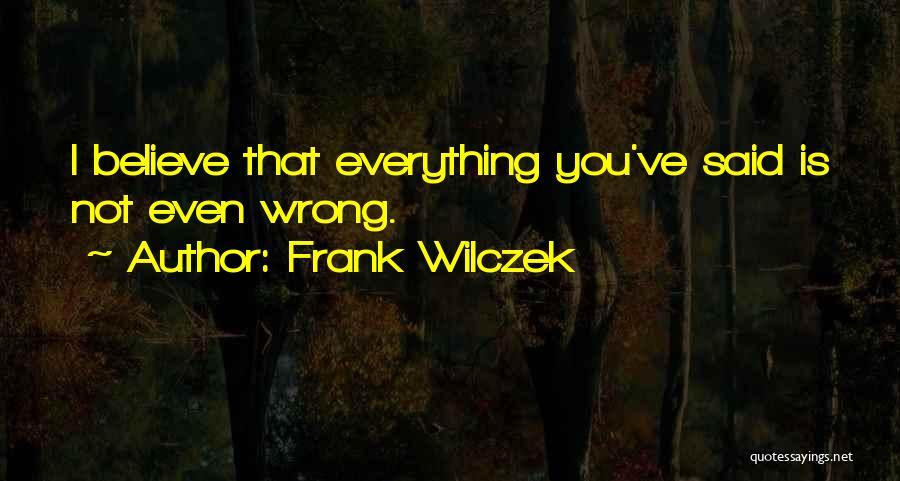 Frank Wilczek Quotes 2008695