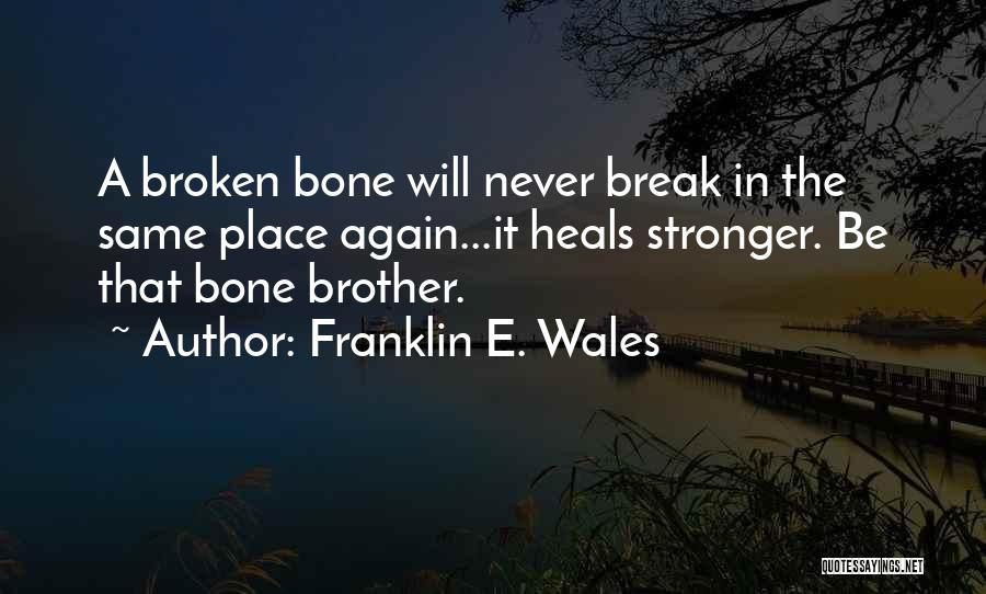 Franklin E. Wales Quotes 241982
