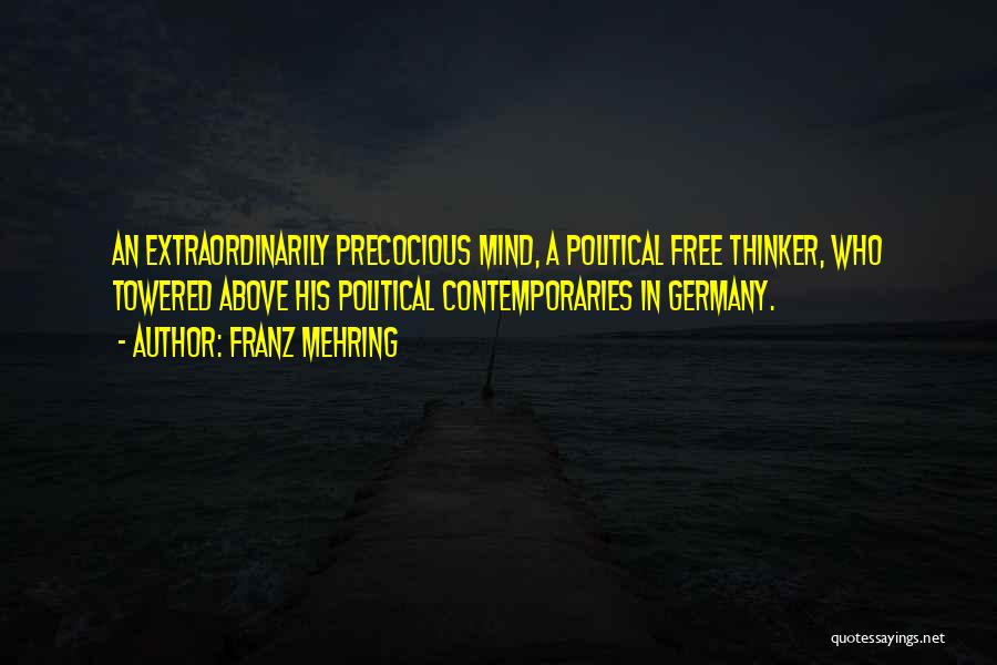 Franz Mehring Quotes 973944