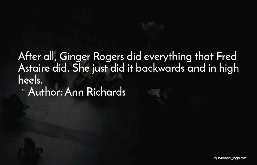 Top 10 Quotes Sayings About Fred Astaire And Ginger Rogers