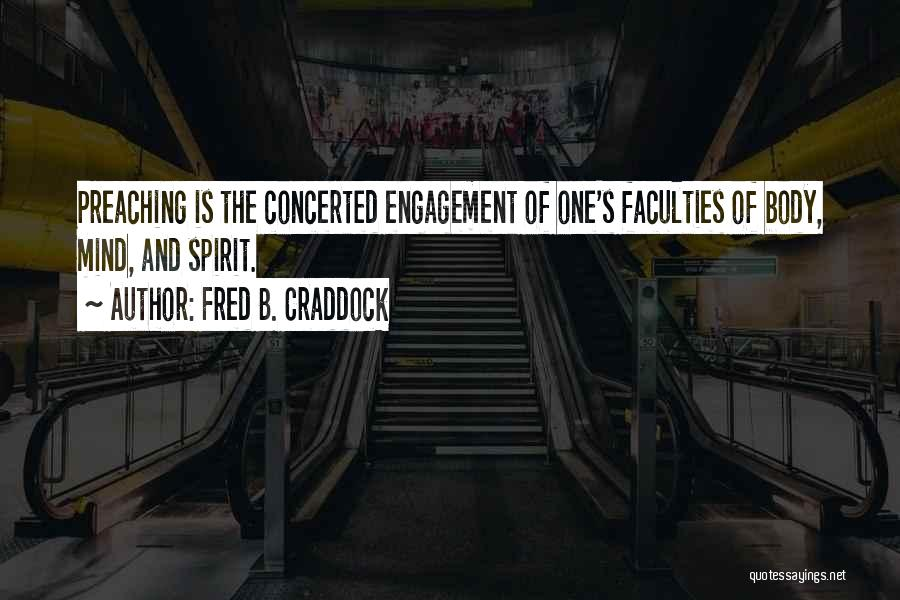 Fred B. Craddock Quotes 785713