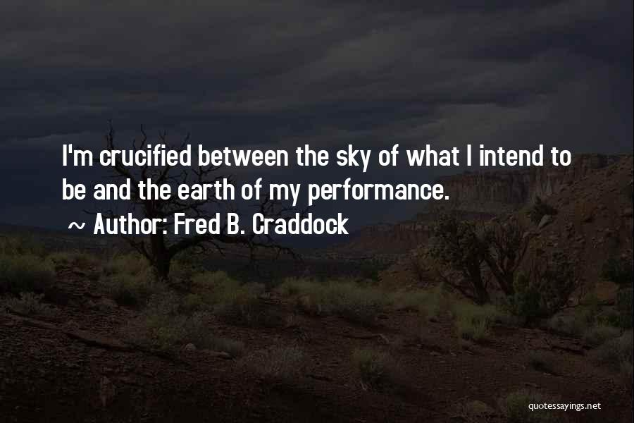 Fred B. Craddock Quotes 817485