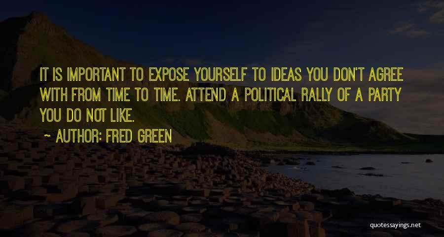 Fred Green Quotes 1816347